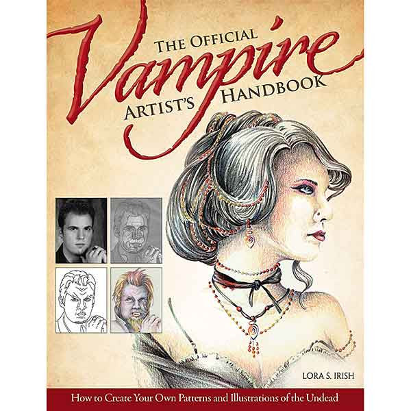 Image of 978-1-56523-678-3 - The Official Vampire Atrist's Handbook