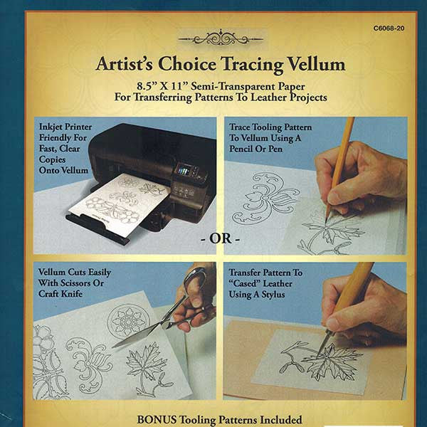 Image of 6068-20 - Tracing Vellum 20 pack