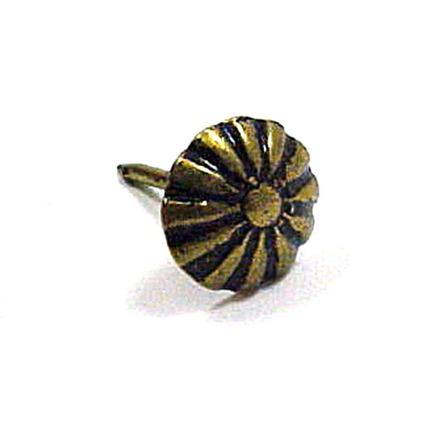 Upholstery Tacks Daisy Ornamental 100 pack - 3 Sizes