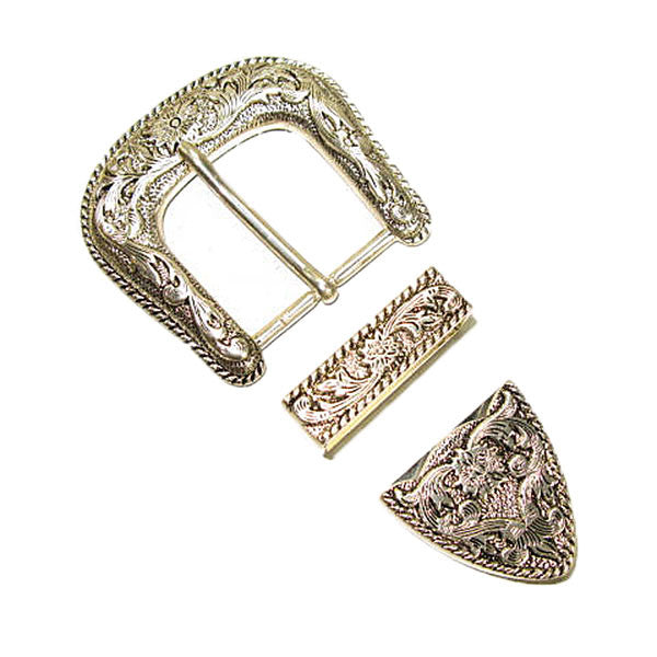 "Image of 1881-00 - Victoria II Buckle Set 1-1/2"" (38mm)"