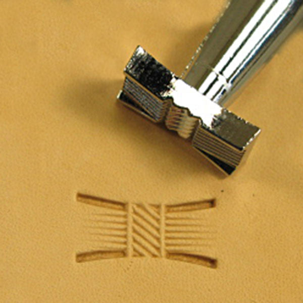 Image of X514s - X514 Basketweave Leather Stamp 6514-00