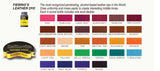 Fiebing's Solvent Based Leather Dye w Applicator 28 Colors 32 oz Bottle Fiebings