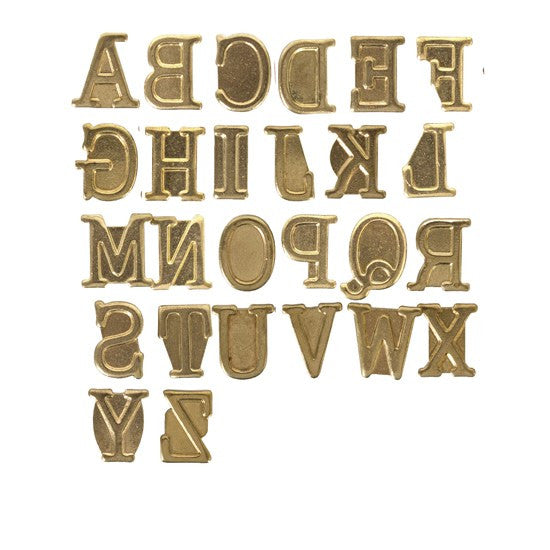 Walnut Hollow HotStamps Alphabet Set, Uppercase