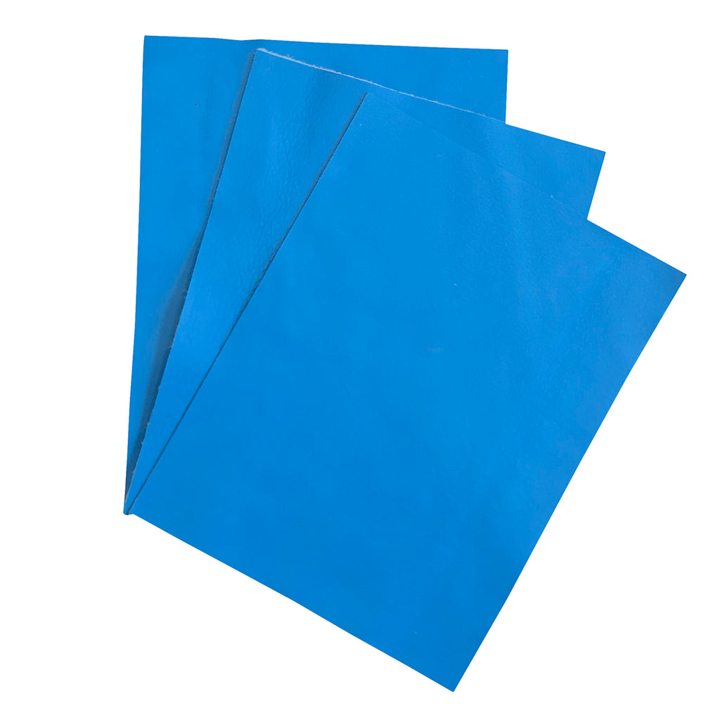 "Delux Brilliant Blue Garment Leather 8.5"" x 11"""