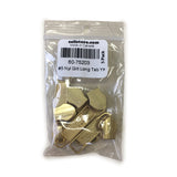 #5 Nylon Gilt Long Tab  YKK Slider 5 Pack