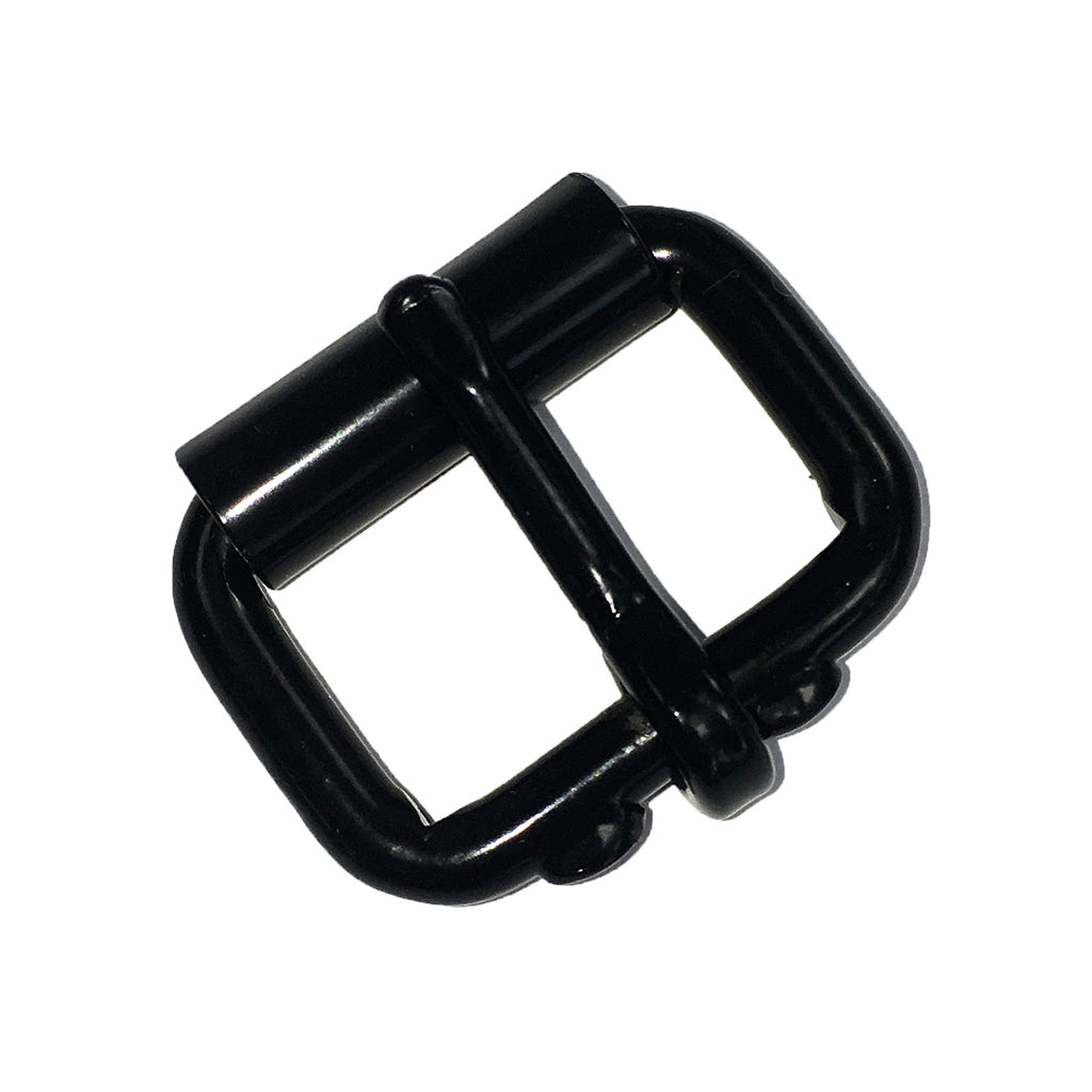 """3//4/"""" Locking Tongue Roller Buckle Nickel Plated"""