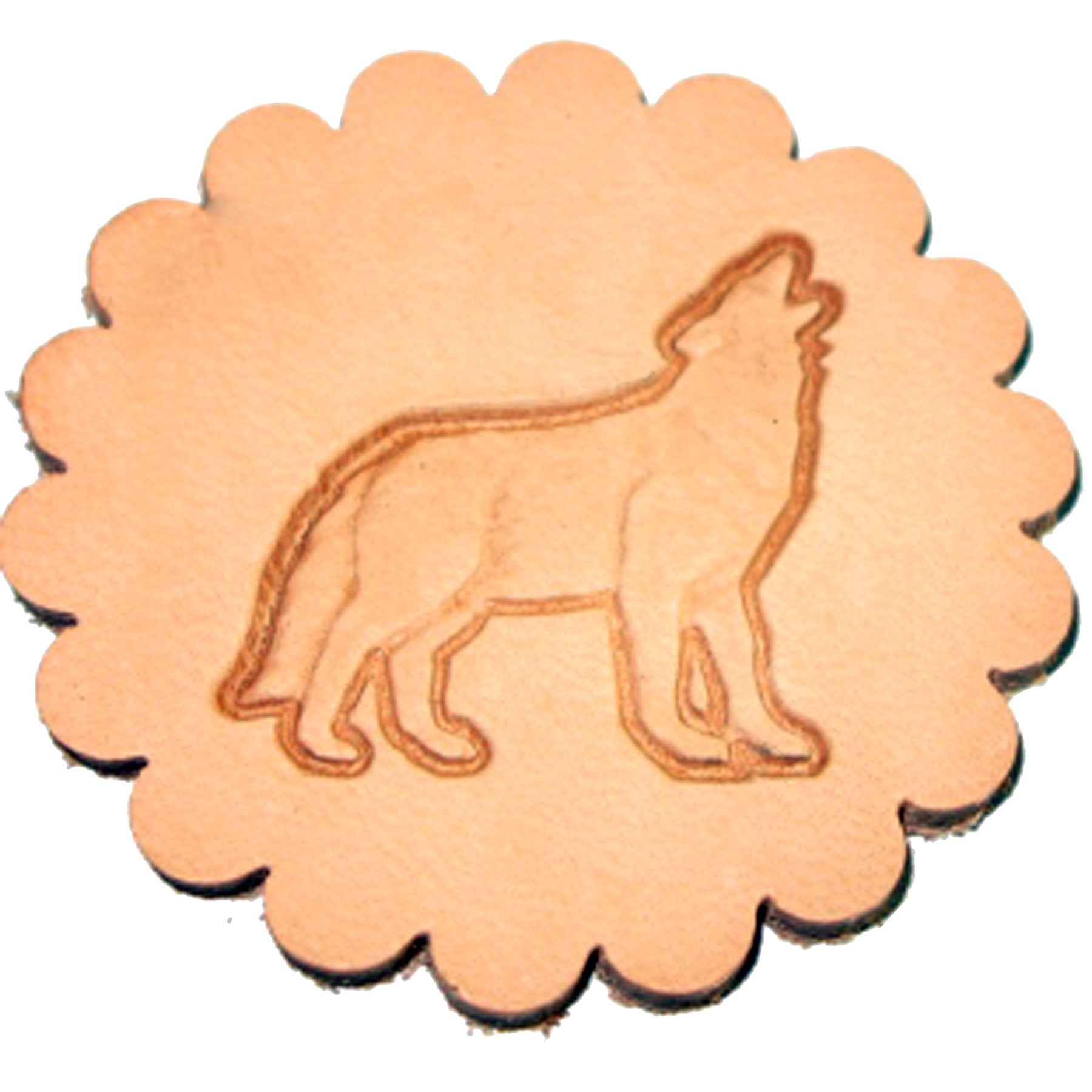 Wolf 3-D Leathercraft Stamp 88475-00