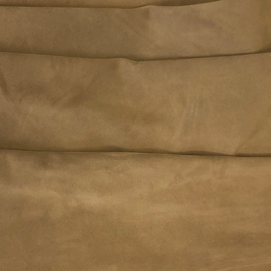 "Pre-Cut Beige Suede Split Cowhide Leather Project Piece 12"" x 24"""