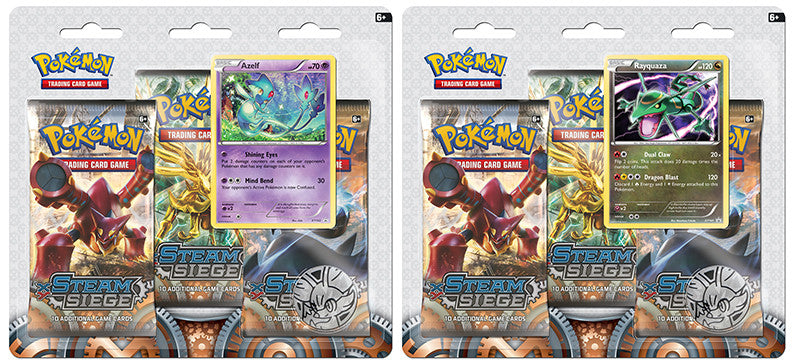 Steam Siege 3-Pack Blister Product Review