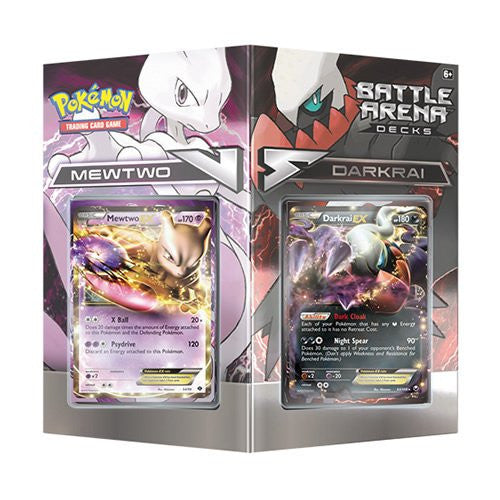 Product Review - Mewtwo vs. Darkrai Arena Deck