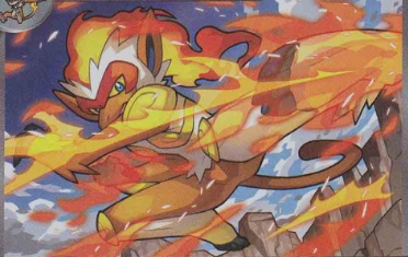 Fun Deck Friday - Volcanion / Infernape