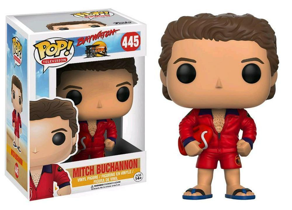 Baywatch - Mitch Buchannon Pop! 445 | Card Merchant NZ