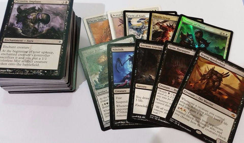 100 Random MTG Cards Including 10 Rare