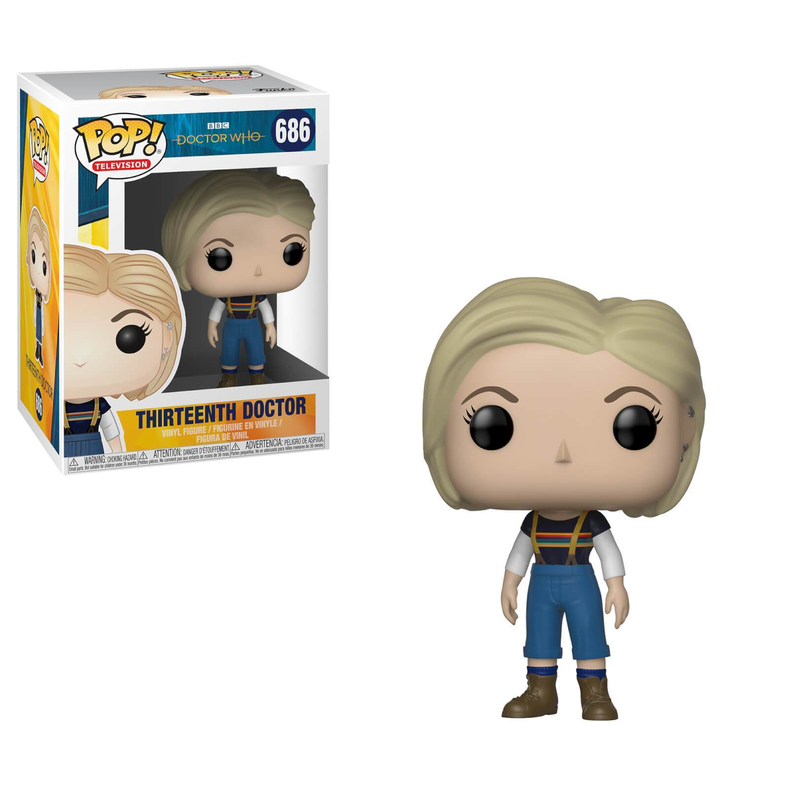 Dr Who - Thirteenth Doctor (without coat) Pop! 686 | Card Merchant NZ
