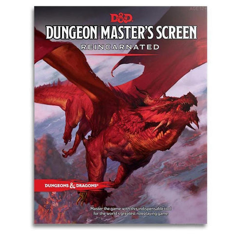 D&D: Dungeon Masters Screen - Reincarnated