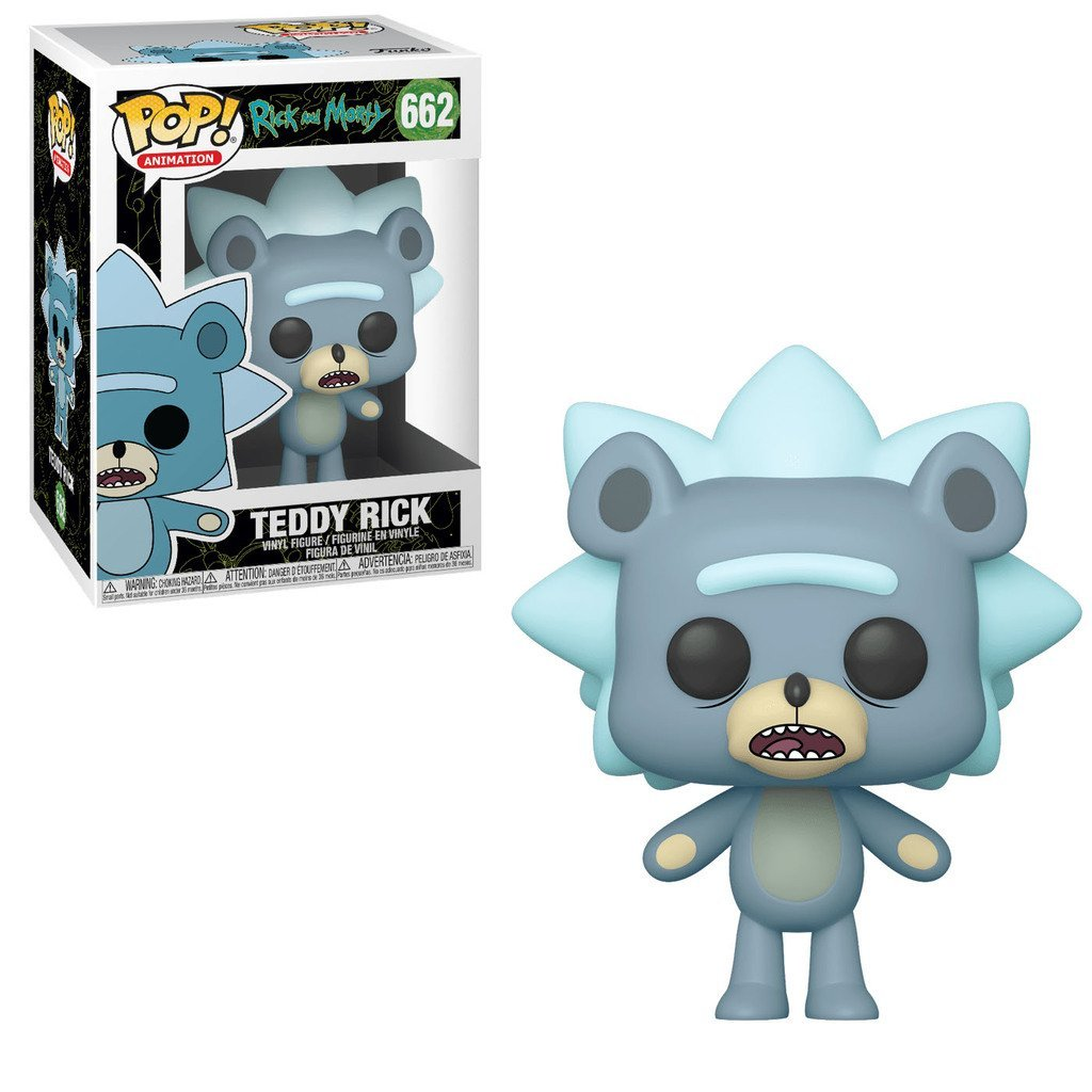 Rick & Morty - Teddy Rick Pop! 662 | Card Merchant NZ