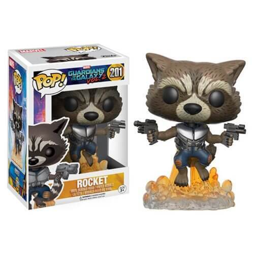 Guardians of the Galaxy Vol 2 - Rocket Flying Pop! 201 | Card Merchant NZ