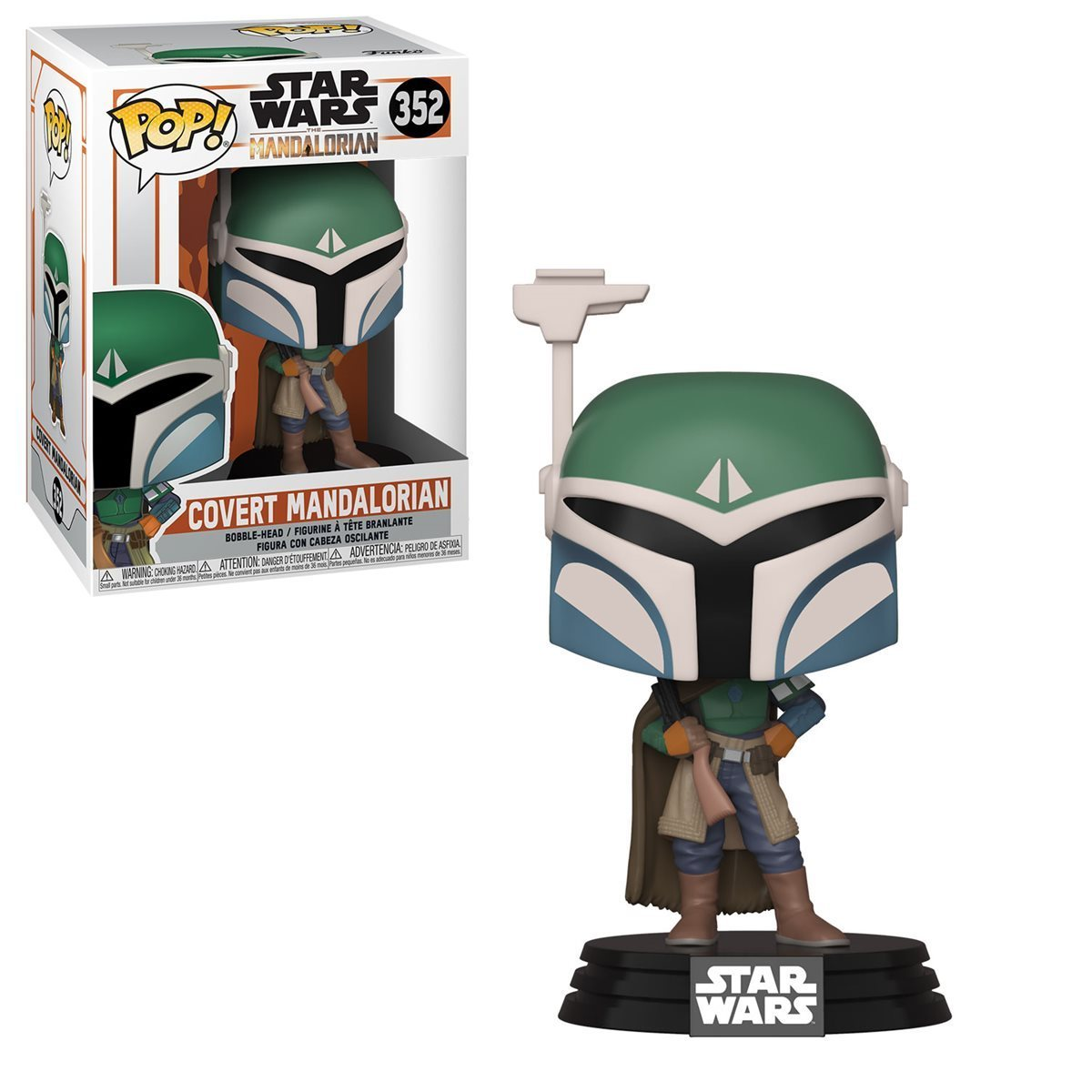 Star Wars: Mandalorian - Covert Mandalorian Pop! 352 | Card Merchant NZ