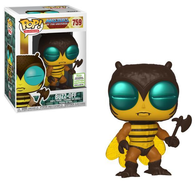 ECCC Masters of the Universe - Buzz Off Pop! 759 | Card Merchant NZ