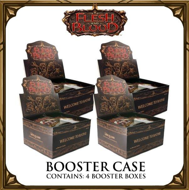 Flesh and Blood: Welcome to Rathe Booster Case | Card Merchant NZ