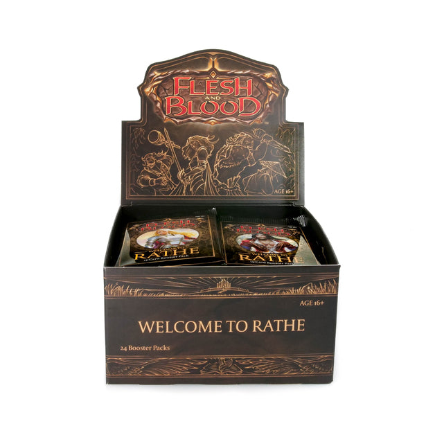 Flesh and Blood: Welcome to Rathe Booster Box | Card Merchant NZ