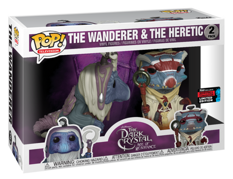 NYCC Dark Crystal: Age of Resistance Wanderer & Heretic Pop! 2 Pack