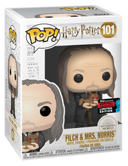 NYCC Harry Potter - Filch with Mrs. Norris Pop! 101 | Card Merchant NZ
