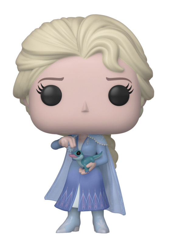 Frozen 2 - Elsa w/ Salamander Pop! 716 | Card Merchant NZ