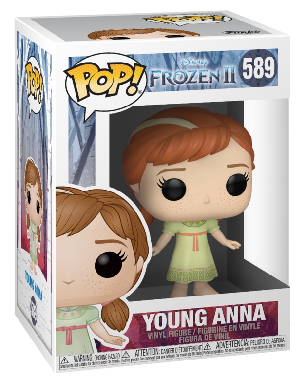 Frozen 2 - Young Anna Pop! 589 | Card Merchant NZ