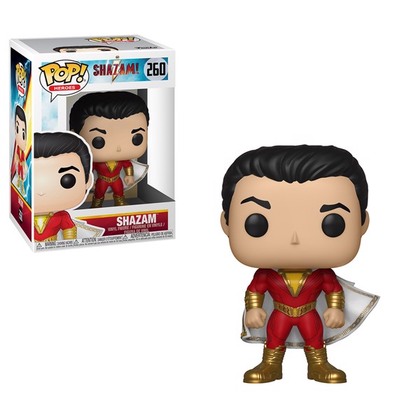 Shazam - Shazam Pop! 260 | Card Merchant NZ