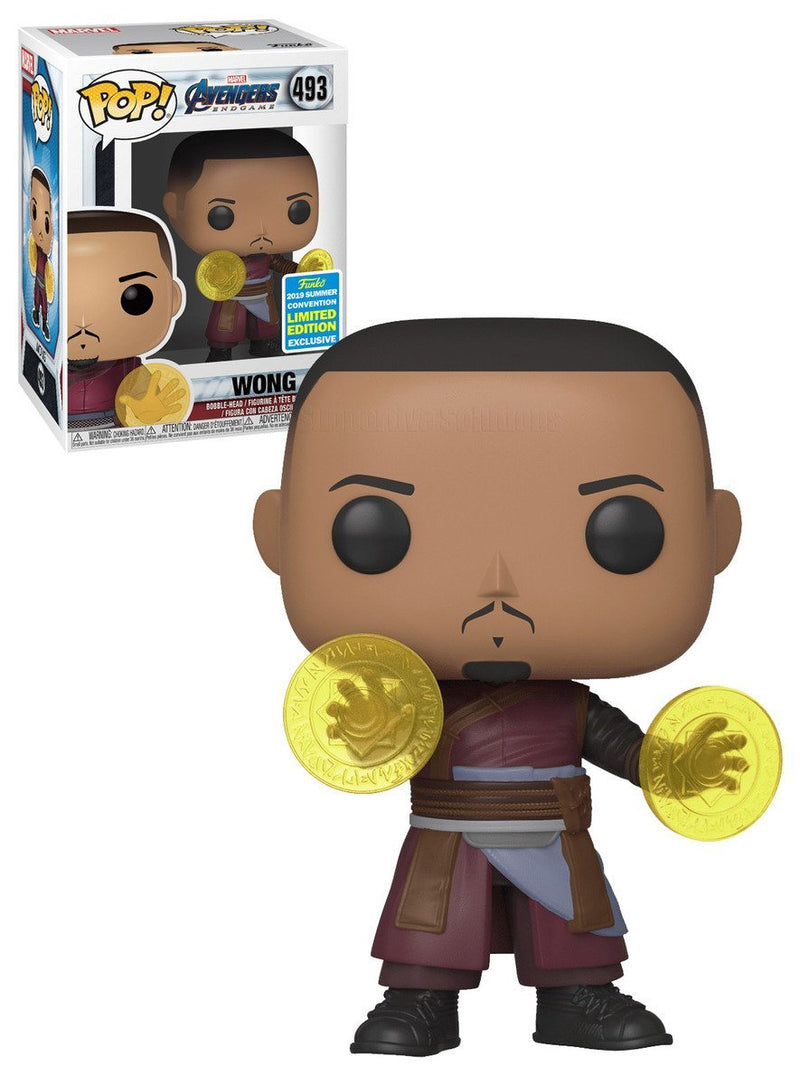 SDCC Avengers End Game - Wong Pop! 493