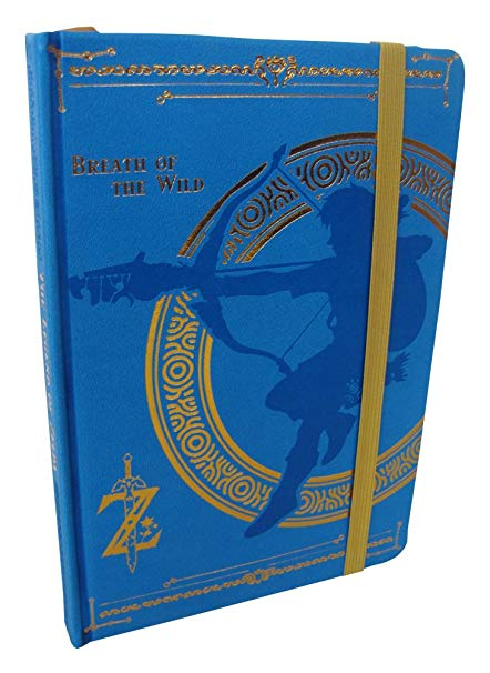 The Legend of Zelda: Breath of Wild Premium A5 Notebook | Card Merchant NZ