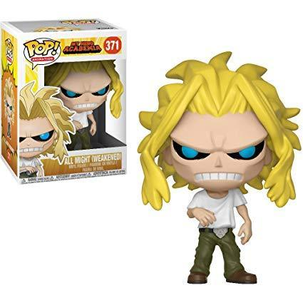 Hero Academia - All Might (Weakened) Pop! 371 | Card Merchant NZ