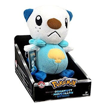 Oshawott 20cm Plush - Tomy Trainers Choice | Card Merchant NZ
