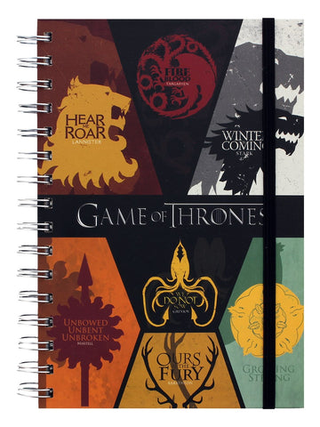 Game of Thrones: Sigils A5 Notebook