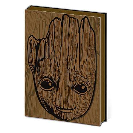 Guardians of the Galaxy Vol 2: Groot Premium A5 Notebook | Card Merchant NZ
