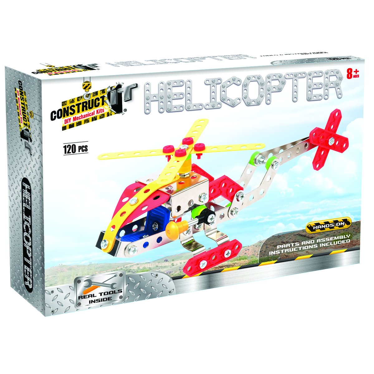 Construct It Kit - Helicopter | Card Merchant NZ