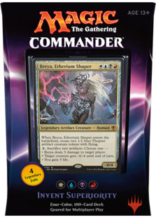 commander 2016 - invent superiority | Card Merchant NZ