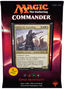 commander 2016 - Open Hostility | Card Merchant NZ