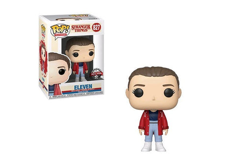 Stranger Things - Eleven w/Slicker Pop! 827