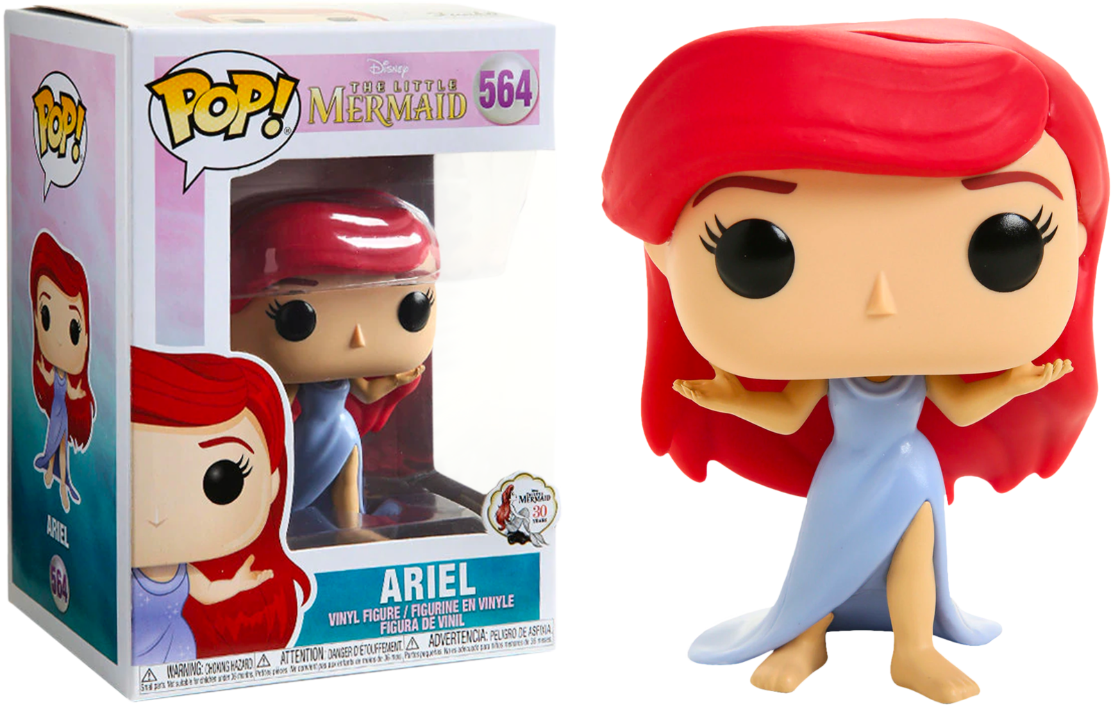 Little Mermaid - Ariel (Purple Dress) Pop! 564 | Card Merchant NZ