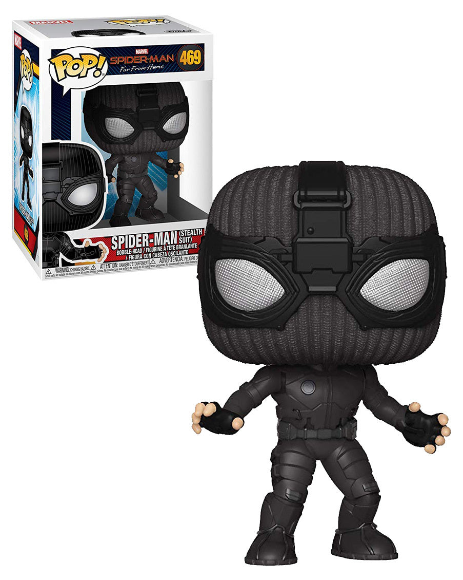 Spider-Man: Far from Home - Stealth suit Pop! 469 | Card Merchant NZ