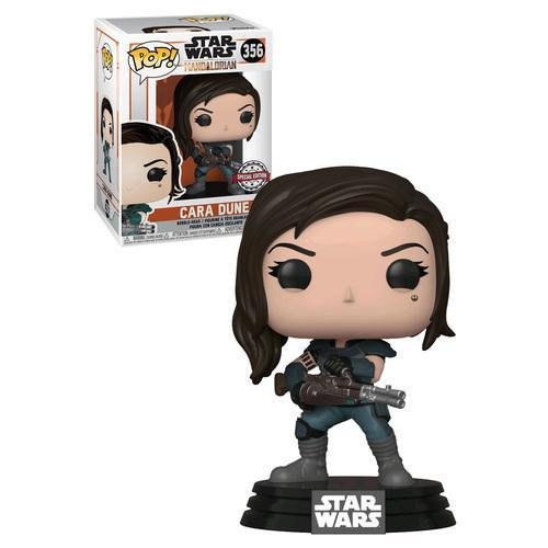Star Wars: Mandalorian - Cara Dune w/Gun Pop! 356 | Card Merchant NZ