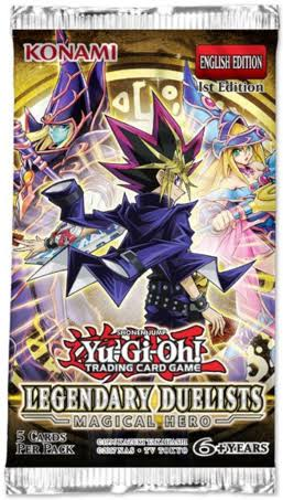 Yu-gi-Oh! Legendary Duelists: Magical Hero Booster Pack (Unlimited) | Card Merchant NZ