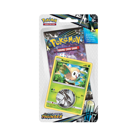 Lost Thunder 1-Pack Blister: Rowlet