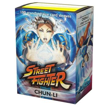 Dragon Shield Street Fighter Sleeves: Chun-Li Art | Card Merchant NZ