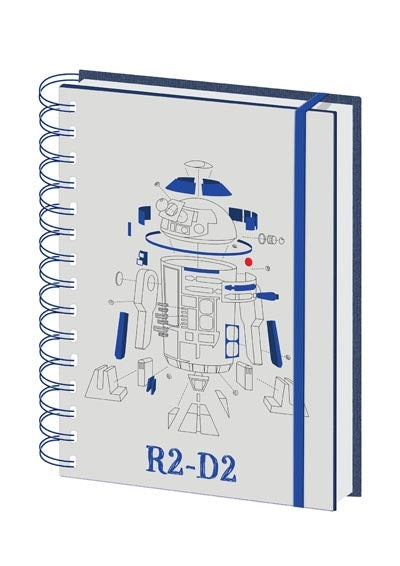 Star Wars: R2-D2 A5 Notebook | Card Merchant NZ