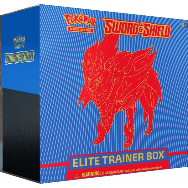 Sword and Shield Elite Trainer Box - Shield