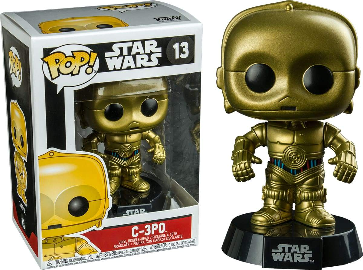 Star Wars - C-3PO Pop! 13 | Card Merchant NZ