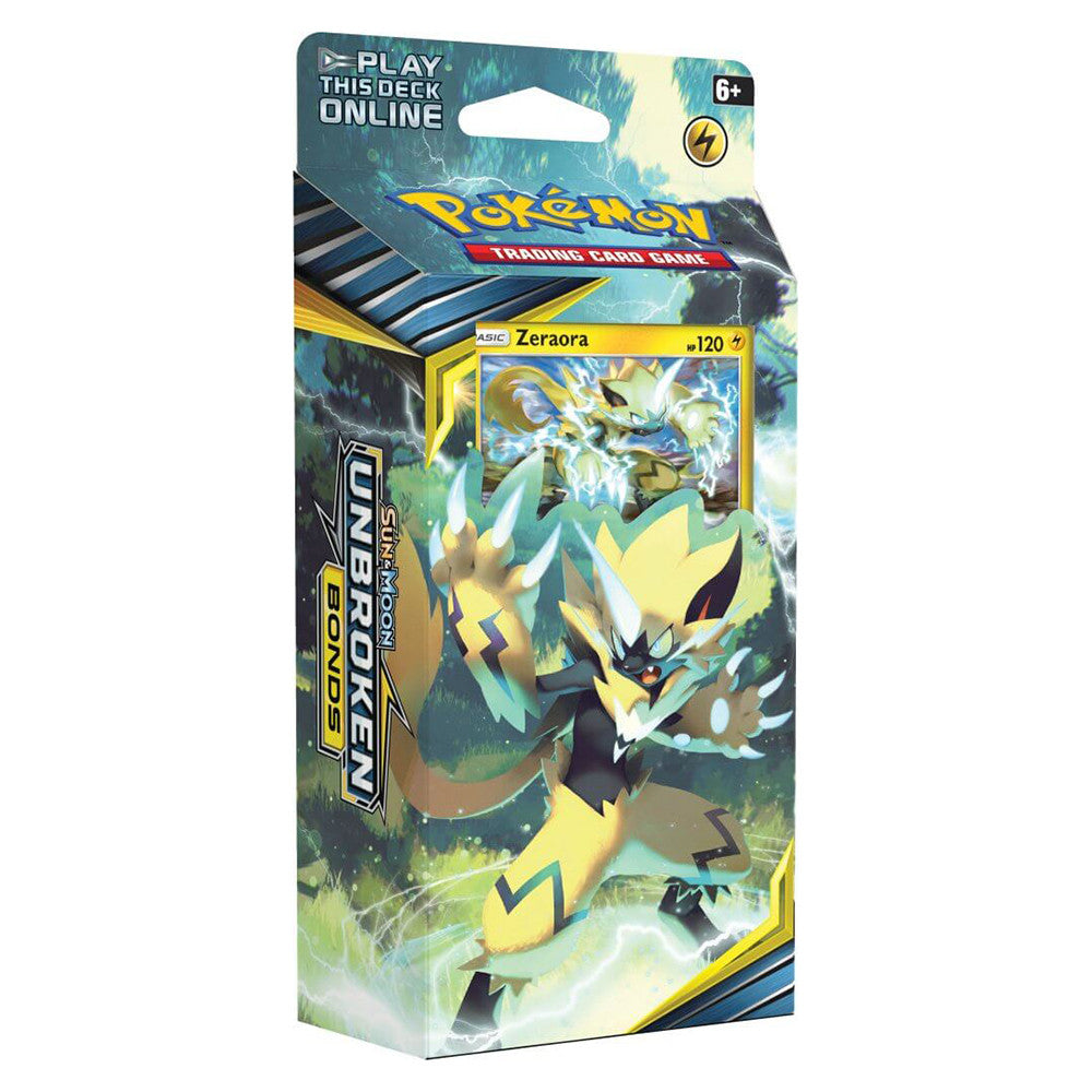 Unbroken Bonds Theme Deck - Zeraora | Card Merchant NZ